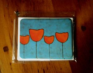 Tulipskycards